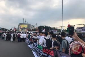 Ratusan Warga Depok Gelar Aksi Bela Al-Aqsa