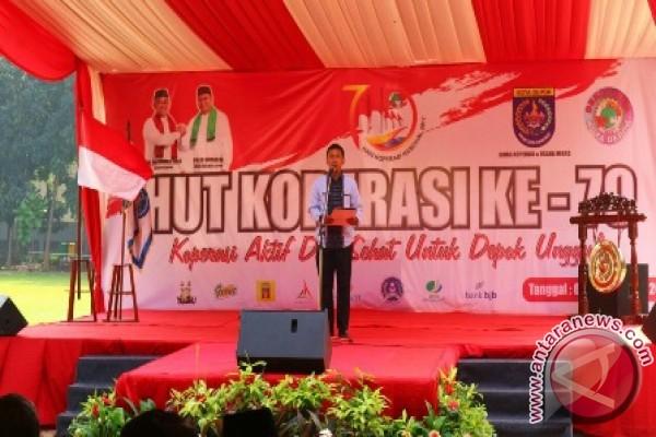 Pemkot Depok beri penghargaan kepada enam koperasi