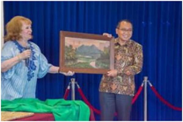 Seni: Warga Belanda Menyerahkan Lukisan Sultan Hamid II