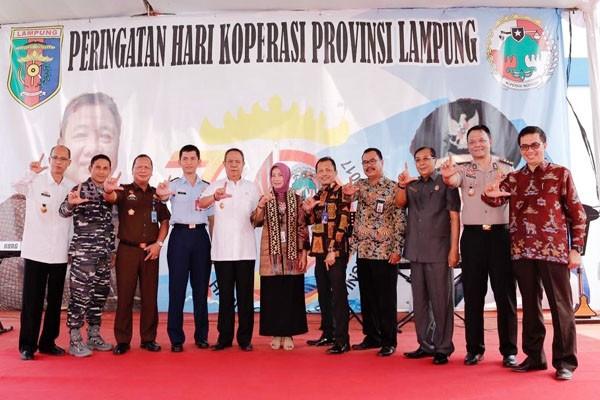 Dekopin Mengapresiasi Kinerja Pemprov Lampung Memajukan Koperasi