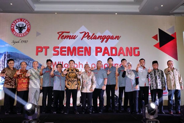 Gubernur Ridho Mengajak Semen Padang Dukung Infrastuktur Lampung