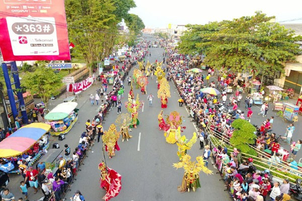 Jember Fashion Carnival Makin Memesona