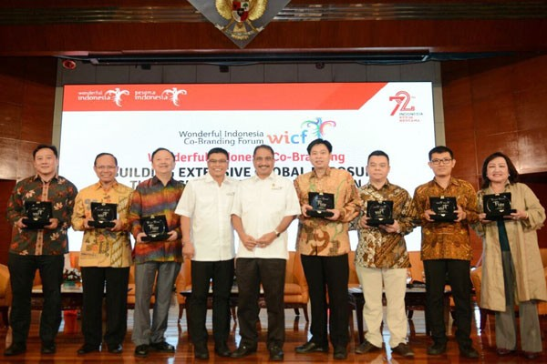 Menpar Arief Yahya Membuka Wonderful Indonesia Co-Branding Forum (WICF)