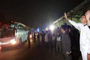 Mobil Dinas Digunakan Antar Jemput Jamaah Calhaj Purwakarta