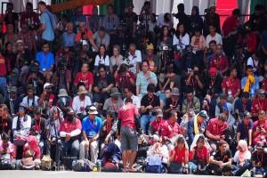 Presiden Jokowi Jawab Hastag #ApaKataPresiden Di Jember Fashion Carnaval (Video)