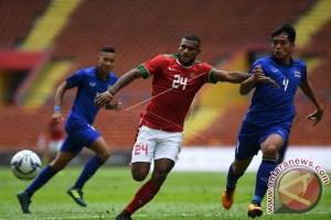 Tim Nasional Indonesia Imbang 1-1 Melawan Thailand