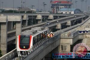 Uji Coba SkyTrain Bandara Soekarno-Hatta Jadi Kado HUT RI Ke-72