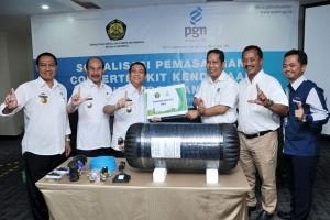 Kendaraan Dinas Dan Angkot Lampung Segera Memakai Bahan Bakar Gas