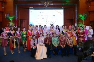 """38 """"Bidadari"""" Mengintai Mahkota Putri Pariwisata Indonesia 2017"""