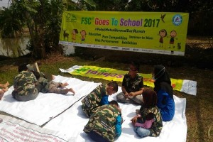 Roadshow FSC Goes To School  2017