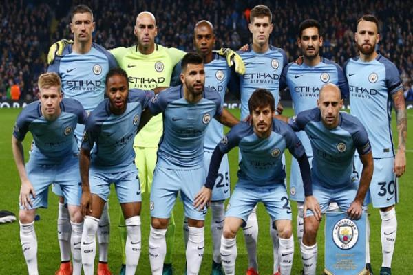 Manchester City Mengalahkan Tottenham Hotspur 4-1