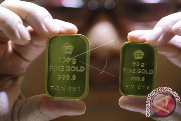 Harga emas mulai turun