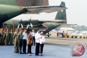 Presiden Jokowi Melepas Bantuan Kemanusian Untuk Ronghiya