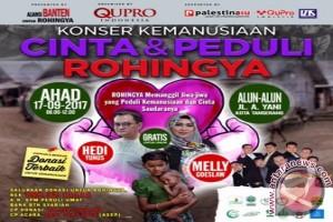 Banten Siap Gelar Konser Kemanusiaan Untuk Rohingya