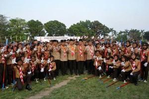 Lampung Segera Memiliki Bumi Perkemahan Pramuka 55 Hektare