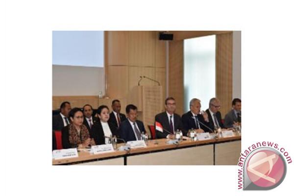 Wakil Presiden Jusuf Kalla Menyaksikan MoU RI-Belgia