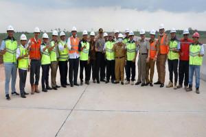 Kantor Staf Presiden Mendukung Penyelesaian Dana dan Lahan Jalan Tol Trans Sumatera Lampung