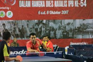 Peringati Dies Natalis Ke-54, IPB Gelar Kejuaraan Terbuka Tenis Meja