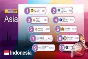 UI Raih Peringkat 54 Di Asia