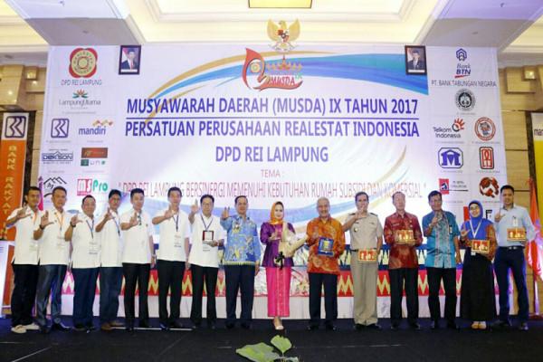REI Lampung Agar Mempercepat Penyediaan Rumah Rakyat