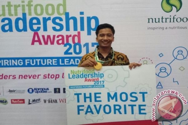 Mahasiswa IPB Raih The Most Favorite Nutrifood Leadership Award 2017