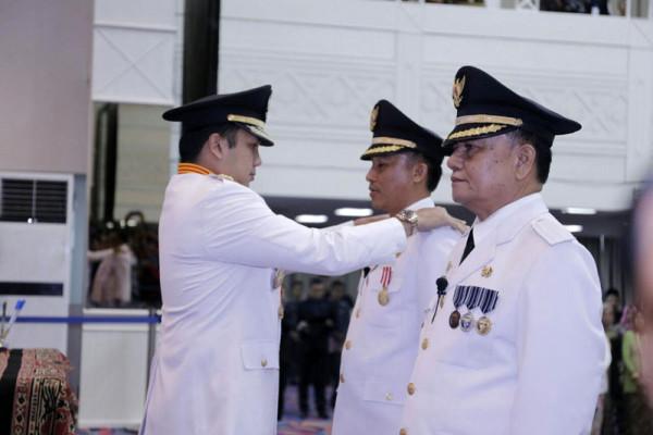 Gubernur Ridho Ficardo Melantik Bupati Dan Wakil Bupati Lampung Barat