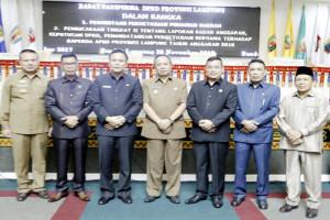 Raperda APBD Lampung 2018 Berpihak Pada Kepentingan Publik