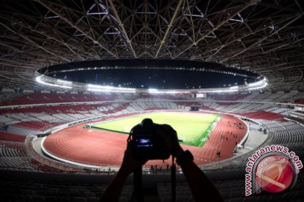 Kerusakan GBK pascafinal Piala Presiden diperbaiki dana deposit