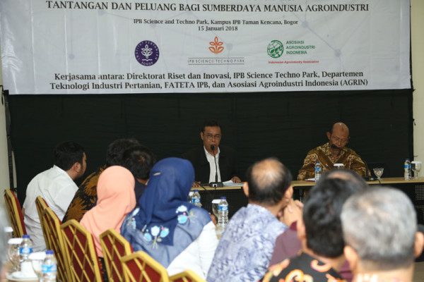 Industri di Era Digital, IPB Talk On Agroindustri 4.0 Digelar
