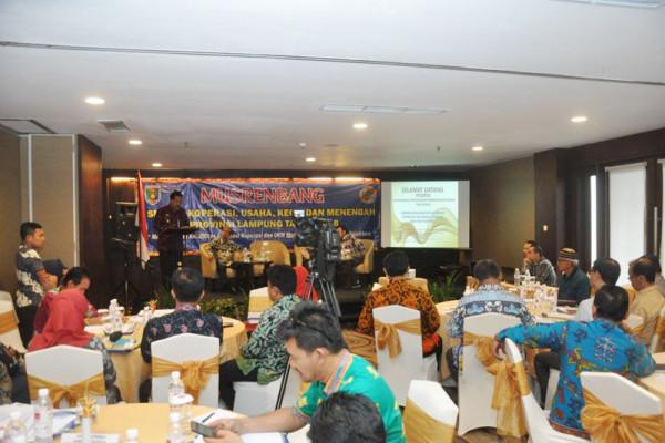 Didik Suprayitno Mendorong Sinergi Lampung-Pusat Kembangkan Koperasi-UKM