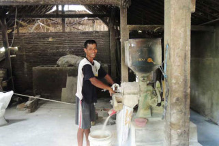 Usaha penggilingan padi di Jabar sepi