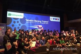 TIKI Indonesia sosialisasi aplikasi Jempol dengan Topers