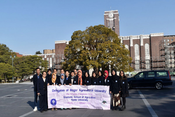 Mahasiswa IPB ikuti winter program di Kyoto