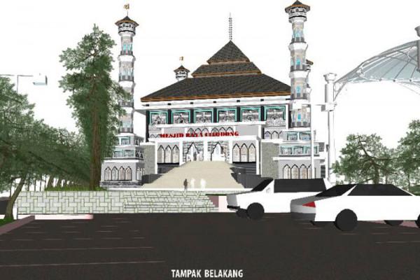 Dinas: Pembangunan Masjid Raya Cilodong sesuai prosedur