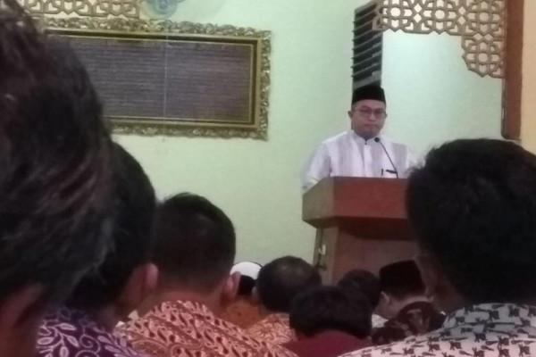 Rektor IPB jadi khotib dan imam sholat Jumat di masjid megah Ini