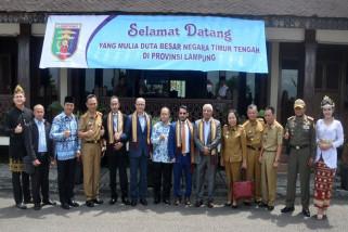 Dubes Timur Tengah Menjajaki Wong Coco PT GGPC dan Nestle Di Lampung