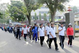 Meriah, Jalan Sehat HUT KE-54 Provinsi Lampung 2018