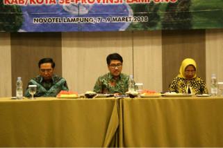 Pemprov Lampung Mendorong Pembangunan Perpustakaan Desa