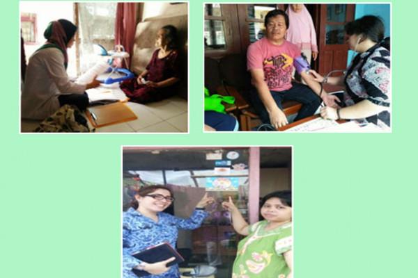 """Program Indonesia sehat dengan pendekatan keluarga """"Relakah keluarga kita hidup sehat"""""""