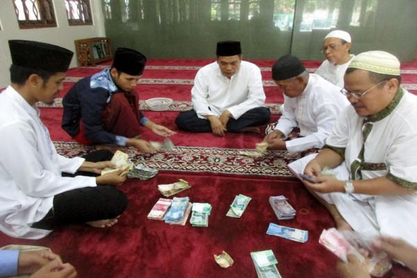 Donasi masjid di Bogor untuk para kaum muslim di Palestina