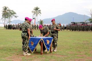 Pemprov Dukung Peranan Marinir Dalam Pembangunan Lampung