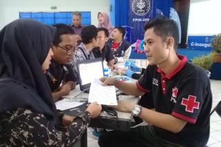 Gelar donor darah and expo health, wujud mahasiswa IPB peduli sesama