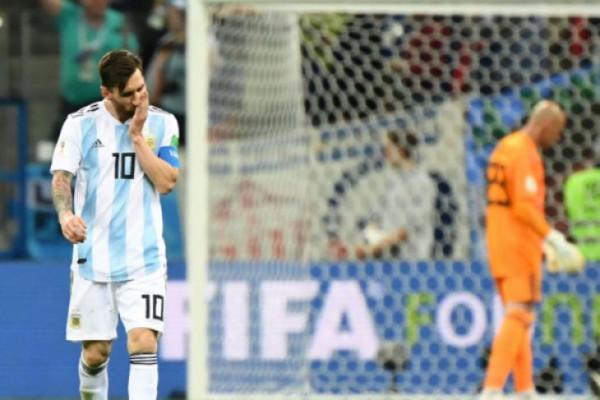 Ketika tim nasional sepakbola Argentina tanpa Lionel Messi