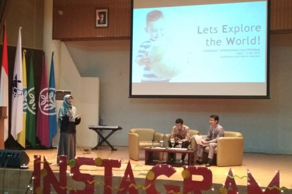 Kejar prestasi internasional, BEM IPB gelar International Talk
