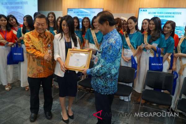 BCA ajak Miss Grand Indonesia kuasai teknologi