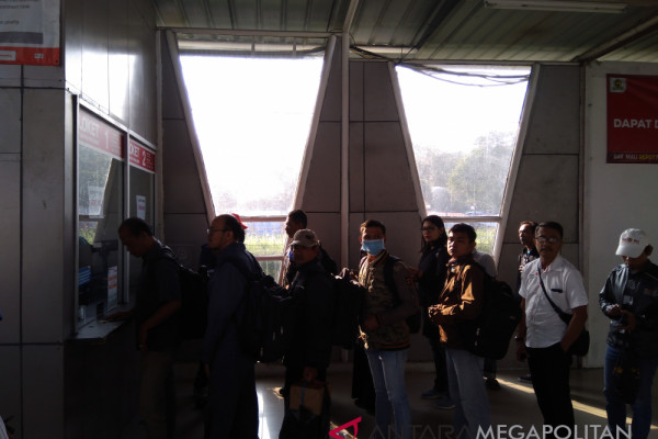 Stasiun Bogor sediakan tiga loket tiket kertas