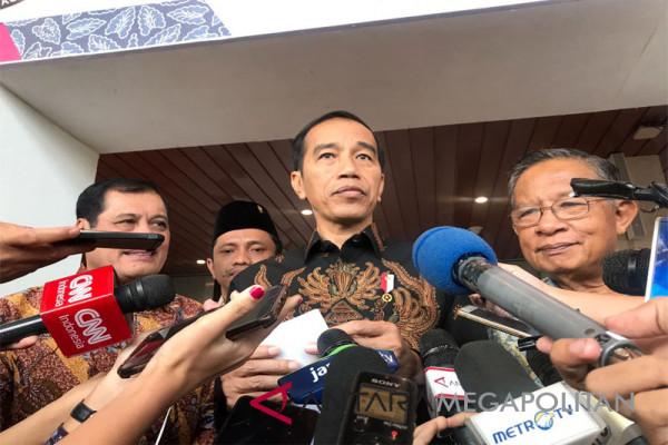 Presiden Jokowi pada Konvensi Nasional Humas 2018 di Jakarta