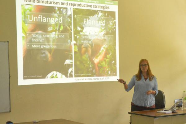 Departemen Biologi IPB hadirkan pakar orangutan dari Swiss