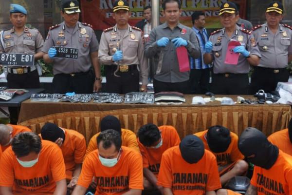 Polres Karawang tangkap puluhan penjahat jalanan