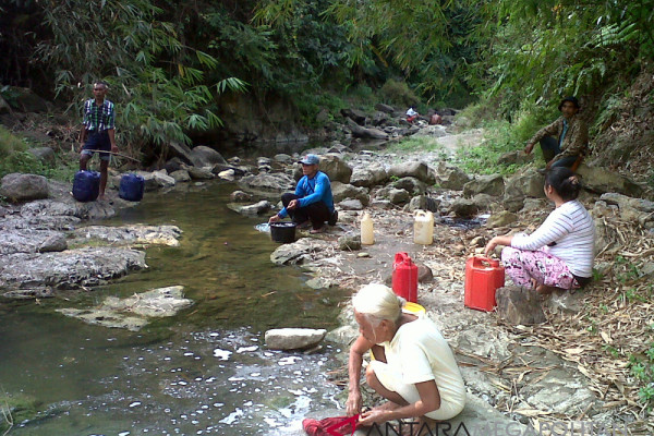 Kekeringan Yogyakarta, ratusan tangki air didistribusikan